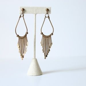 Gorgeous Deco Art Hanging Earrings